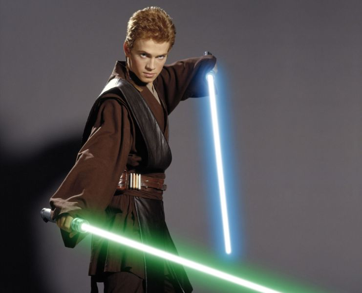 Anakin Skywalker as a trained Jedi