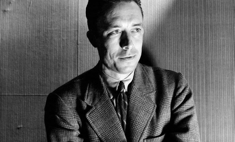 Albert Camus, by Cecil Beaton.